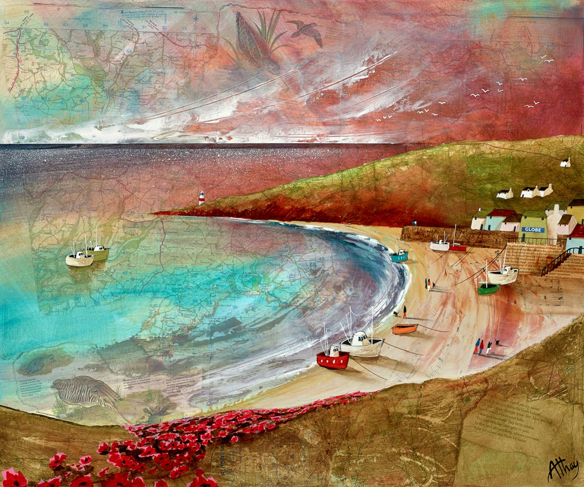 Low Tide II by keith athay -  sized 24x20 inches. Available from Whitewall Galleries